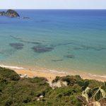 Die Aussicht von Mythos Corfu