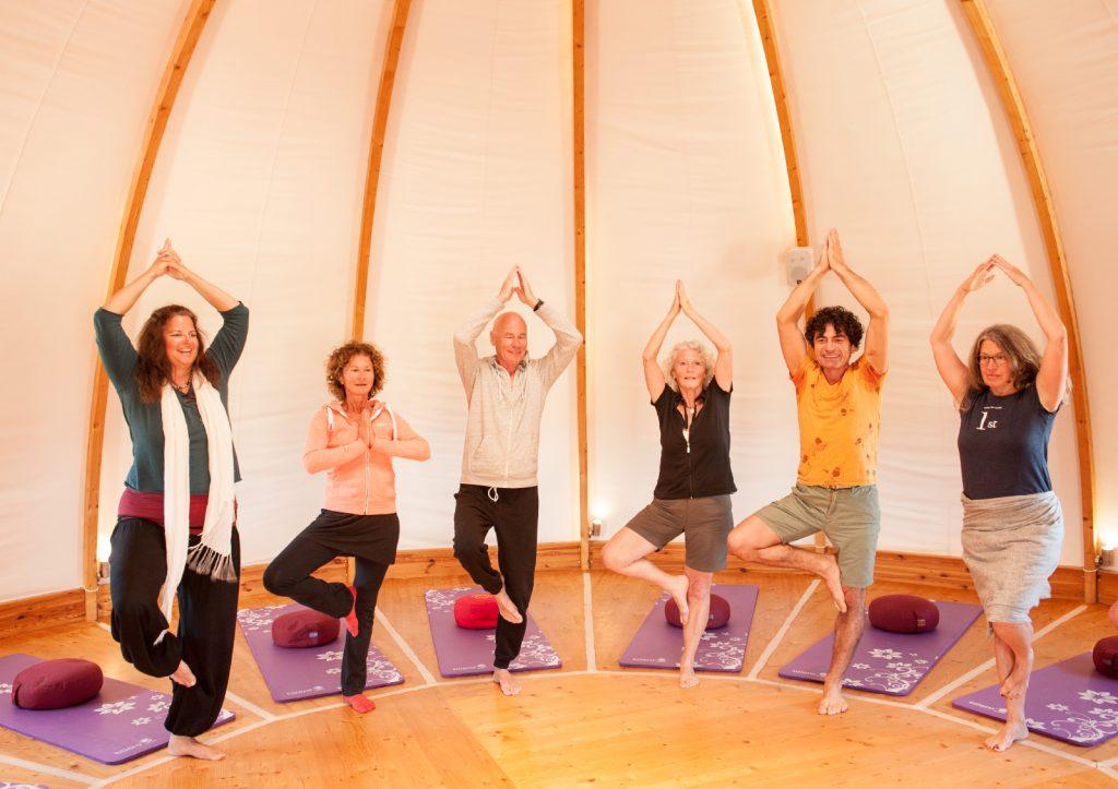 Yoga-Urlaub auf Korfu