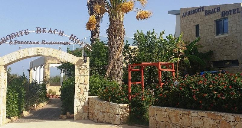 Aphrodite Beach Hotel - Abgelegen vom Trubel und an einem der schönsten Strände Zyperns