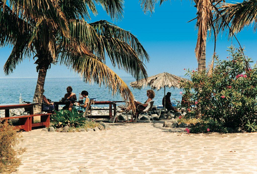 Der wunderschöne Strand auf la Gomera